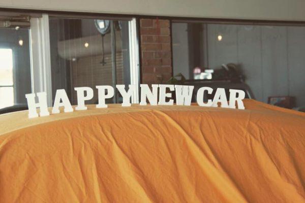 Happy new car サムネイル